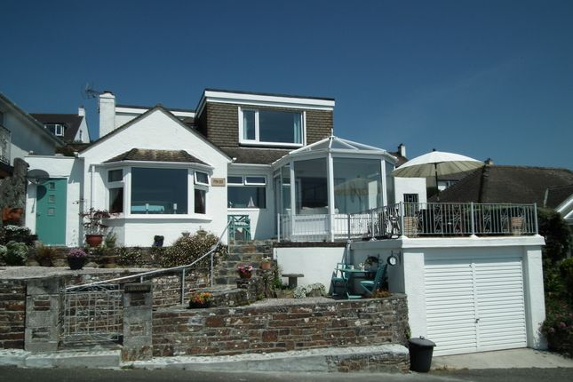 Thumbnail Detached bungalow for sale in Bay View Road, East Looe, Cornwall