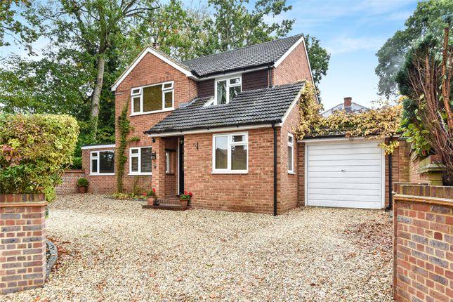 Thumbnail Detached house for sale in Wellington Road, Sandhurst, Berkshire