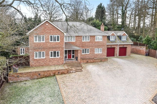 Thumbnail Detached house for sale in Brackendale Close, Camberley, Surrey