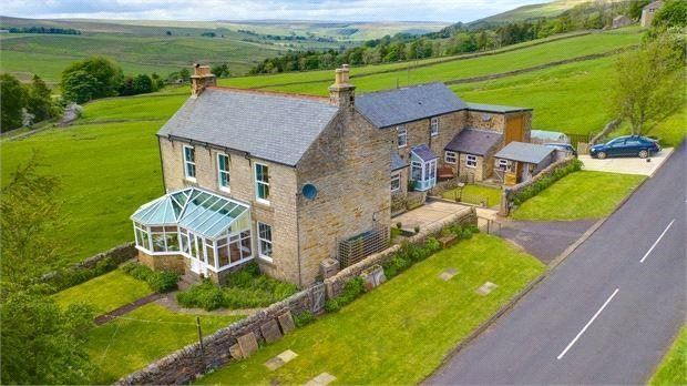 Thumbnail Detached house for sale in Carrshield, Northumberland