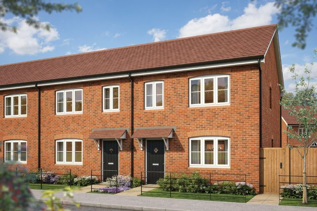 "Thumbnail Terraced house for sale in ""The Hazel"" at Silverwoods Way, Kidderminster"