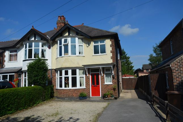 3 bed semi-detached house for sale in Uttoxeter Road, Mickleover, Derby