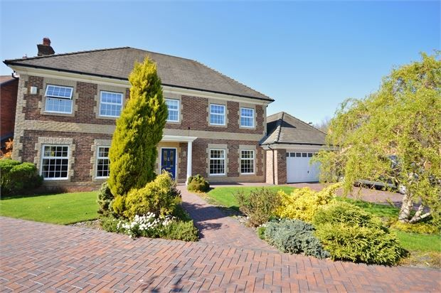 Thumbnail Detached house for sale in Bramhall Drive, High Generals Wood, Washington, Tyne & Wear.
