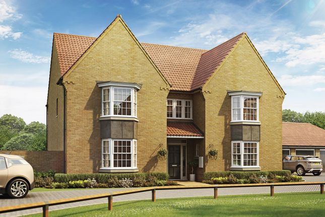 "Thumbnail Detached house for sale in ""Evesham"" at Sir Williams Lane, Aylsham, Norwich"
