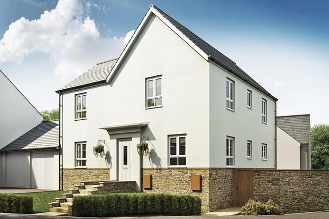 "Thumbnail 4 bed detached house for sale in ""Alderney"" at Kimlers Way, St. Martin, Looe"