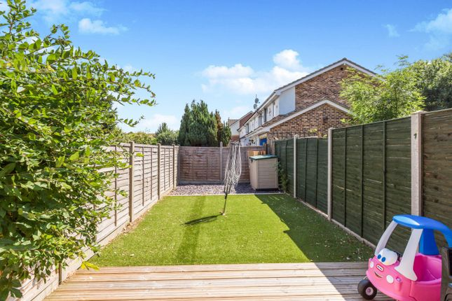 Thumbnail Terraced house to rent in Marlin Close, Gosport