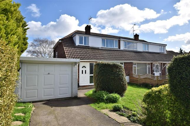 Thumbnail Semi-detached house for sale in Rosecroft Way, Shinfield, Reading