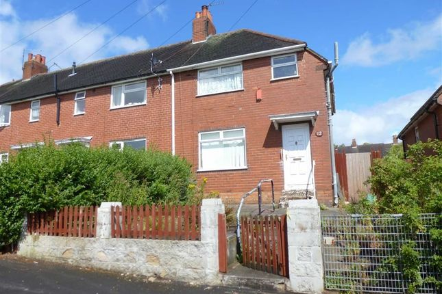 Thumbnail Semi-detached house for sale in Rowley Avenue, Chesterton, Newcastle