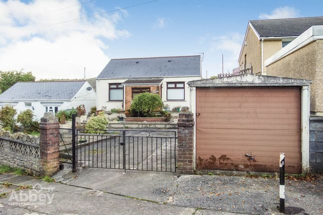 Thumbnail Detached bungalow for sale in Wenallt Road, Tonna, Neath