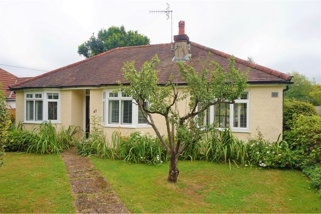 Thumbnail Detached bungalow for sale in Woodhatch Road, Redhill