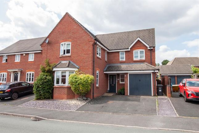 4 bed detached house for sale in Cheshire Close, Burntwood WS7