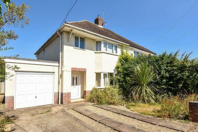 Thumbnail Semi-detached house for sale in Milton Road, Sutton Courtenay, Abingdon