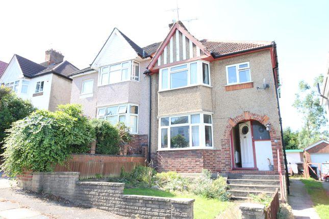 Thumbnail Semi-detached house for sale in Hillside, Kingsbury