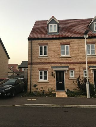 Thumbnail Semi-detached house to rent in Jubilee Close, Sandy