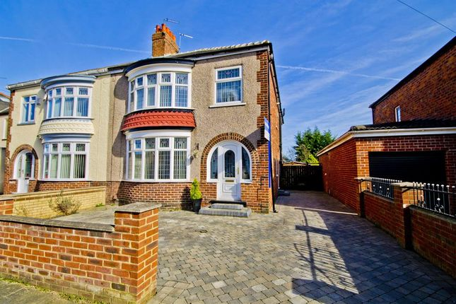 4 bed semi-detached house for sale in Del Strother Avenue, Stockton-On-Tees
