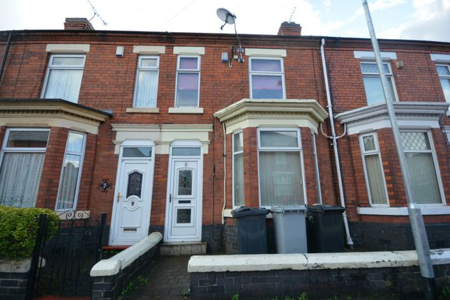 Thumbnail Terraced house to rent in Madeley Street, Crewe