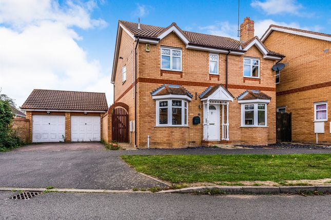 Thumbnail Detached house for sale in Riverstone Way, Northampton