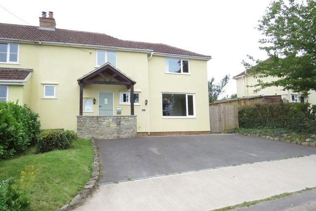 Thumbnail Semi-detached house to rent in Snake Lane, Bagley, Wedmore, Somerset.