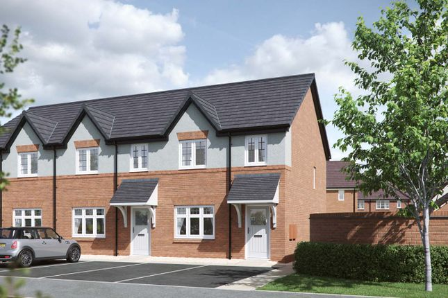 """Thumbnail Terraced house for sale in """"Iris"""" at Council Houses, Branston Road, Tatenhill, Burton-On-Trent"""