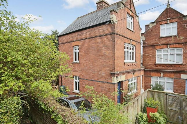 Thumbnail Semi-detached house for sale in St. Davids Terrace, Exeter