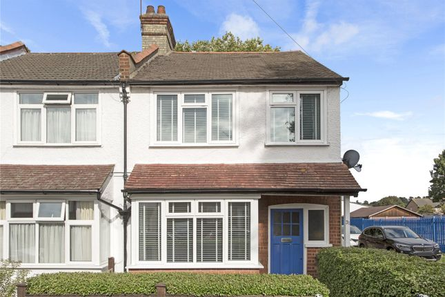 Thumbnail End terrace house for sale in Bute Road, Wallington