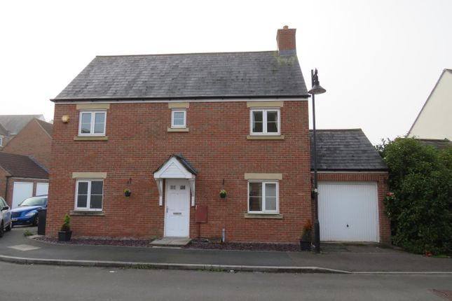 Thumbnail Detached house to rent in Tuscan Road, Swindon