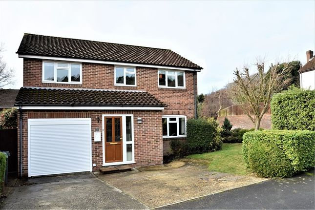Thumbnail Detached house for sale in Pevensey Way, Frimley, Surrey