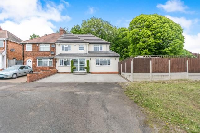Thumbnail Semi-detached house for sale in Broad Lane, Birmingham, West Midlands
