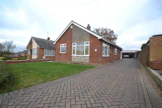 Thumbnail Detached bungalow for sale in Spixworth, Norwich