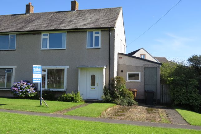 Thumbnail Semi-detached house for sale in Scawfell Crescent, Seascale, Cumbria