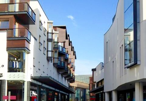 Thumbnail Flat to rent in Princesshay, Exeter City Centre