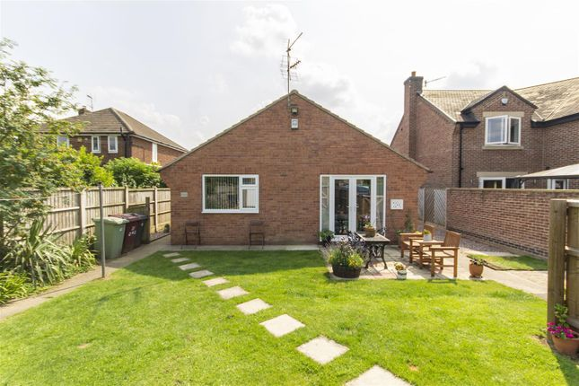 3 bed detached bungalow for sale in Church Lane, Temple Normanton, Chesterfield S42