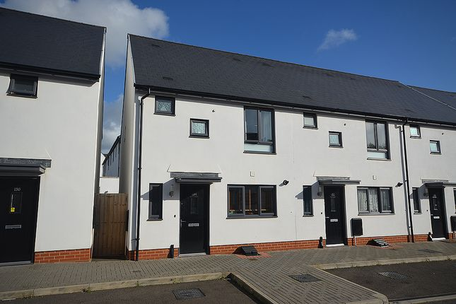 Thumbnail End terrace house for sale in Milbury Farm Meadow, Exminster, Near Exeter