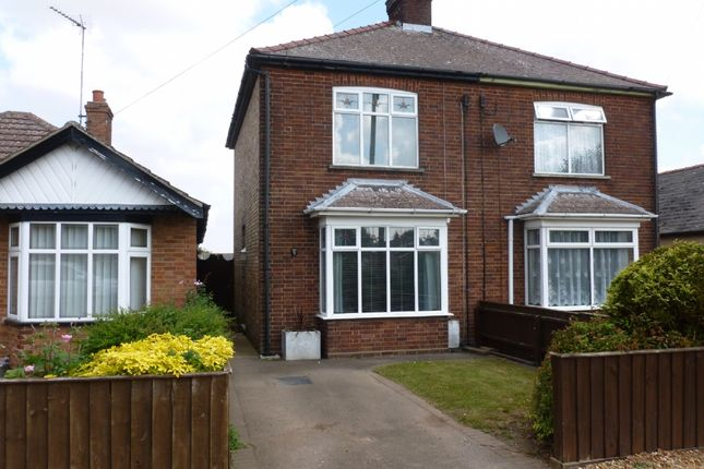 Thumbnail Semi-detached house to rent in Upwell Road, March