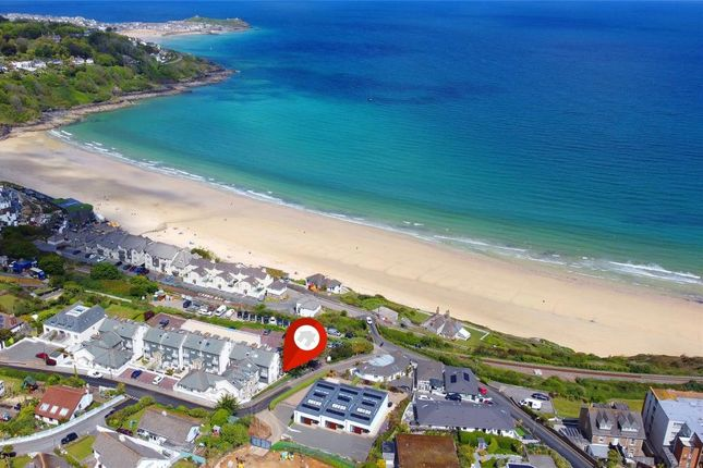 Thumbnail Flat for sale in Compass Point, Boskerris Road, Carbis Bay, St. Ives