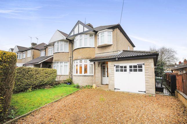 Thumbnail Semi-detached house for sale in Hardenhuish Avenue, Chippenham