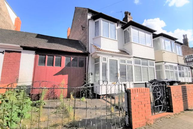 3 bed semi-detached house for sale in Whitehall Road, Handsworth, Birmingham B21