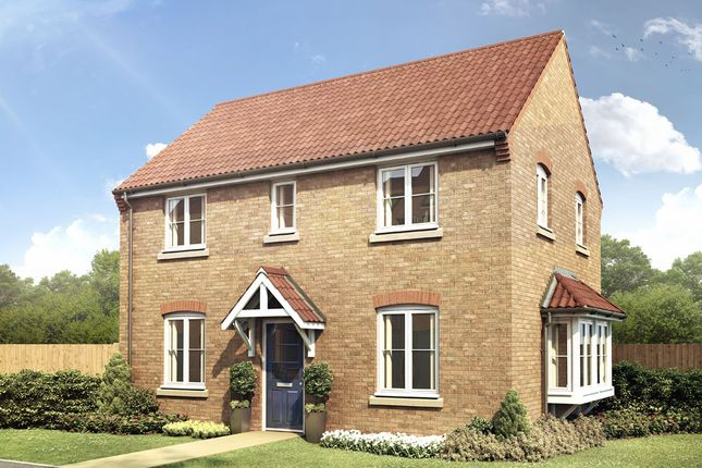 Thumbnail Detached house for sale in The Winthorpe, Livingstone Road (Off Lyveden Way), Oakley Vale, Corby, Northamptonshire