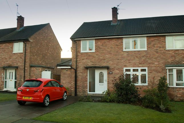 Thumbnail End terrace house for sale in Delamere Avenue, Eastham, Wirral