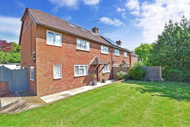 Thumbnail Semi-detached house for sale in Fairfield, Herstmonceux, Halisham, East Sussex