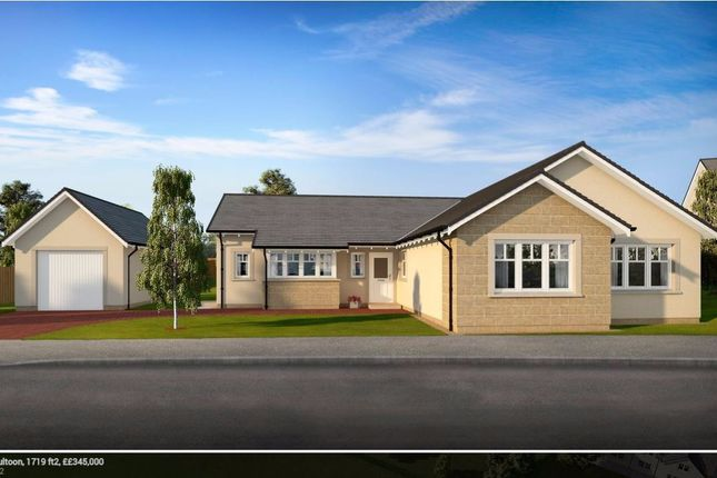 Thumbnail Bungalow for sale in Plot 15 Marlefield Grove, Tibbermore, Perthshire