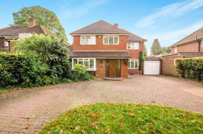 Thumbnail Detached house for sale in London Road South, Merstham, Redhill, Surrey