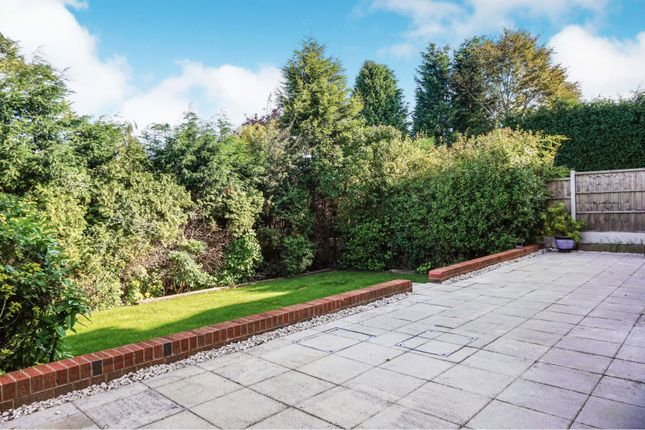 Rear Garden of Cranmer Grove, Sutton Coldfield B74