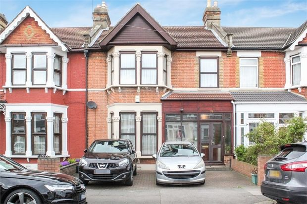 Thumbnail Terraced house for sale in Castleton Road, Goodmayes, Essex
