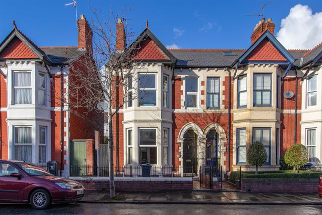 Thumbnail End terrace house for sale in Deri Road, Penylan, Cardiff