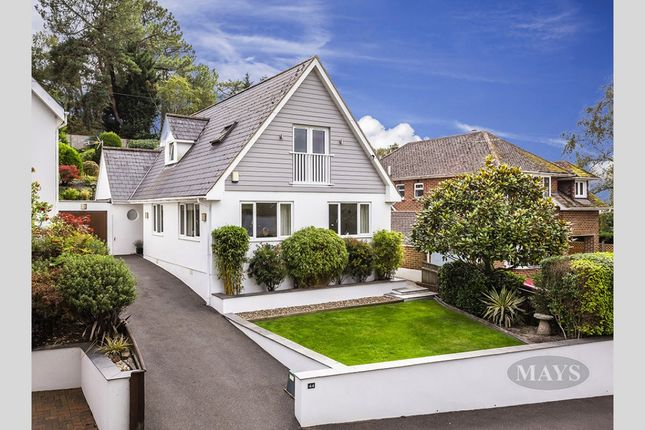 Thumbnail Detached house for sale in Elgin Road, Parkstone, Poole