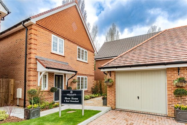 Thumbnail Detached house for sale in Princess Marina Drive, Arborfield Green, Reading