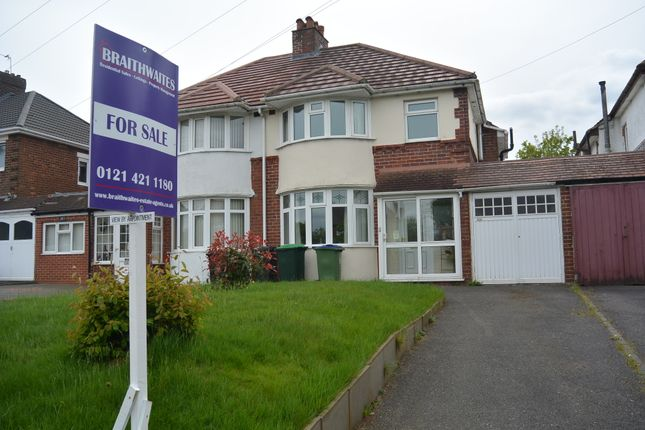 Thumbnail Semi-detached house for sale in Wolverhampton Road, Oldbury