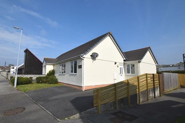 Thumbnail Semi-detached bungalow for sale in Wheal Leisure, Perranporth