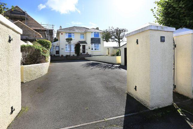 Thumbnail Detached house for sale in Furzehatt Road, Plymstock, Plymouth